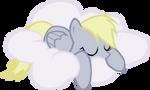 sleeping Derpy hooves VECTOR