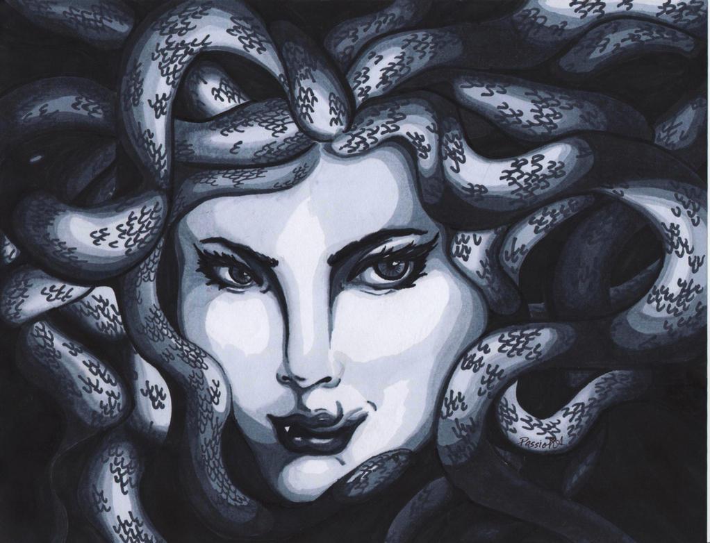 Medusa by PassionA