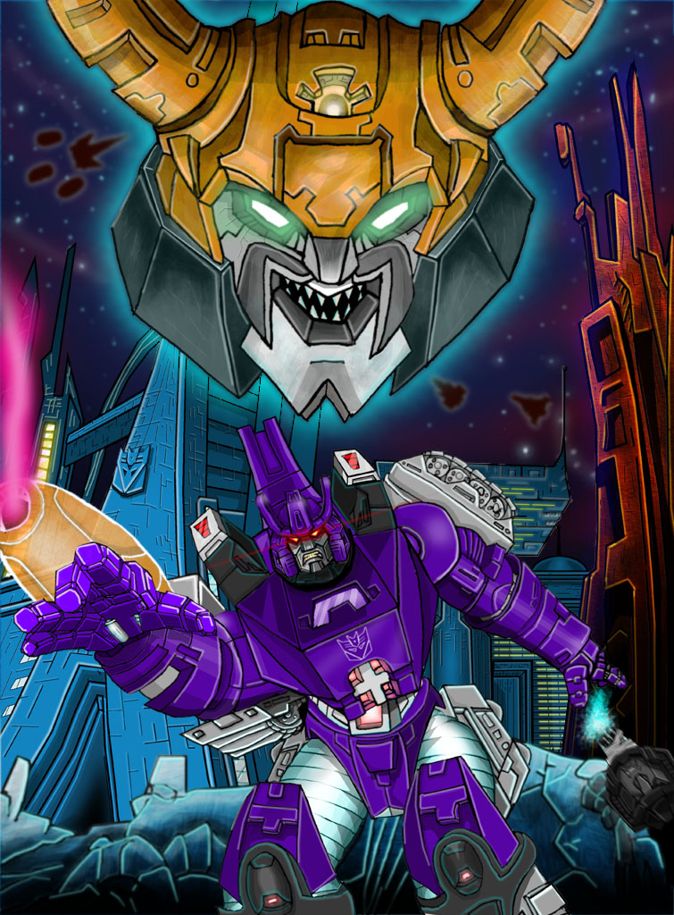 Transformers Scratch Cyborgz From Outerspace