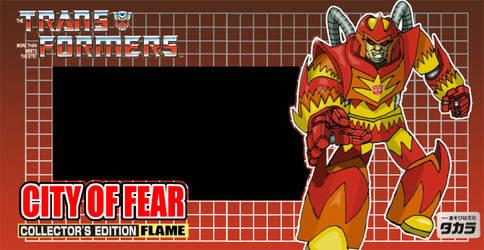 Autobot Flame - Mock-up boxart