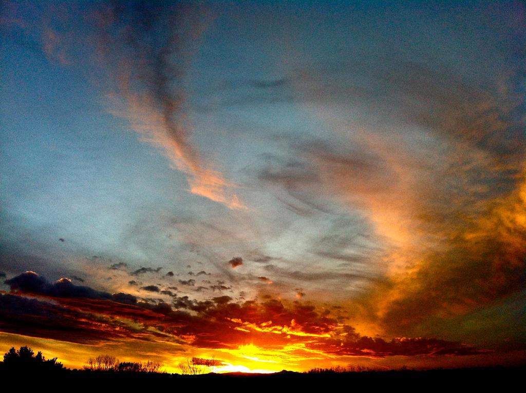 December Sunset by Blue-BirdPhotography