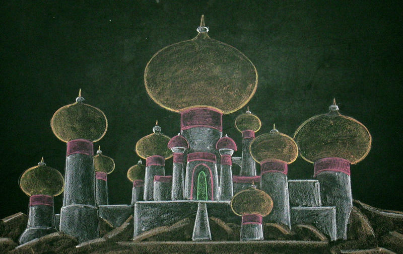 Agrabah's Palace by Azdaracylius