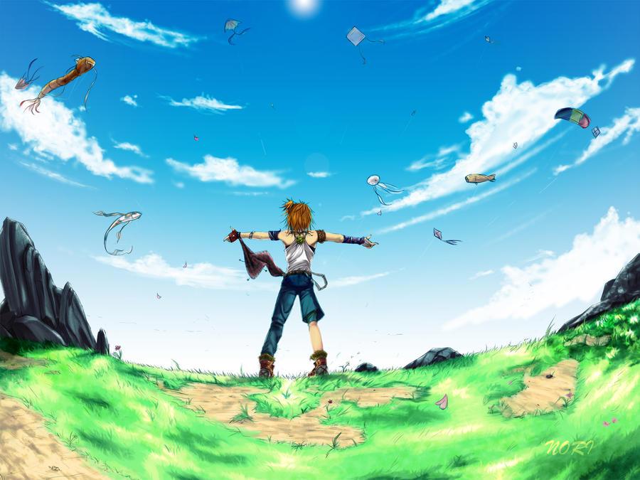 The Boy Who Dreamed Sky By Alganori