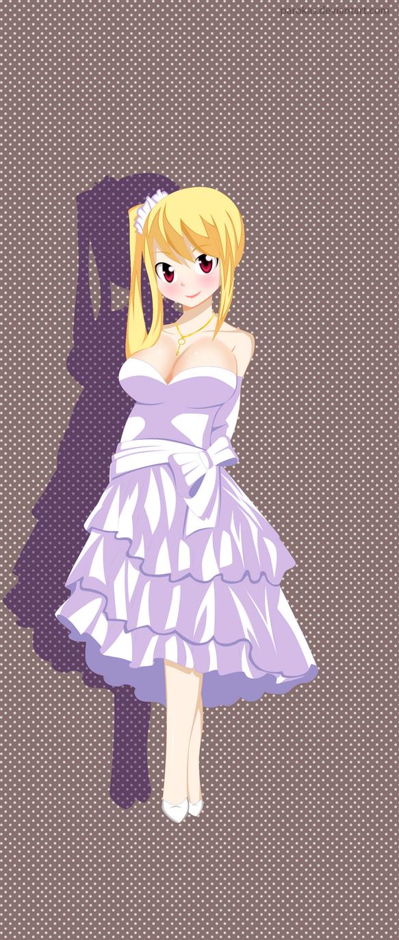 Lucy Heartfilia Dress-Fairy Tail By Parokas On DeviantArt