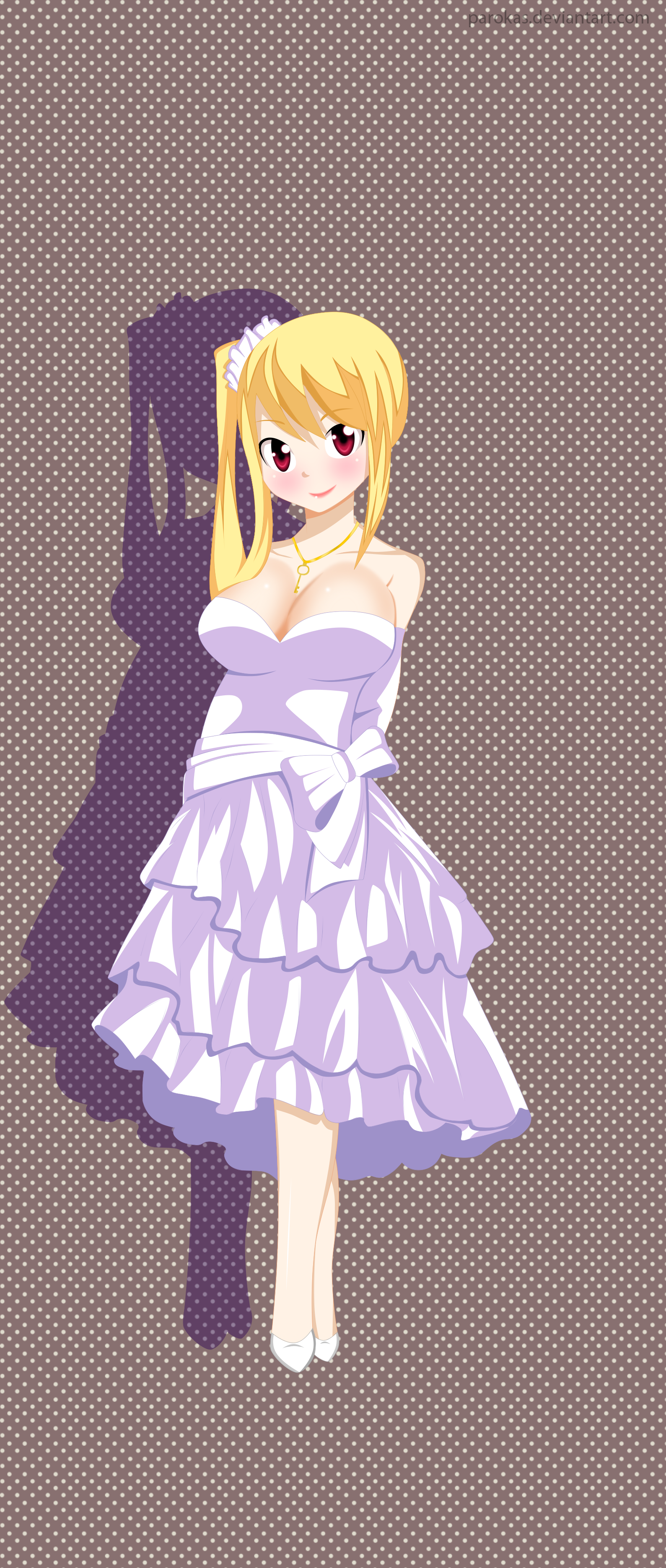 Lucy Heartfilia Dress-Fairy Tail By Parokas On DeviantArt