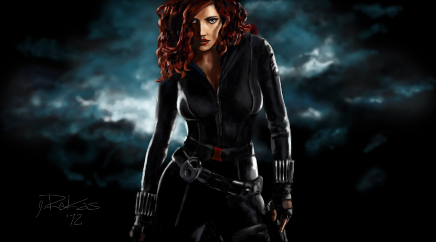 The Pictures For Scarlett Johansson Black Widow Avengers Wallpaper