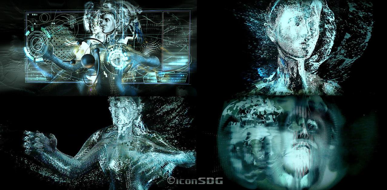Robotic - disintegrating by greQ111