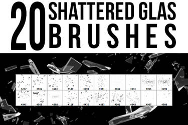 Shattered Glas Brushes