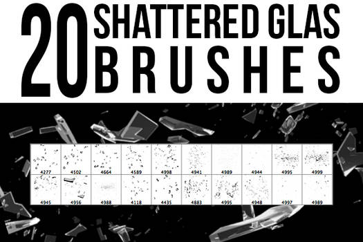 Shattered Glas Brushes