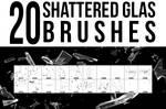 20 Shattered Glas Brushes