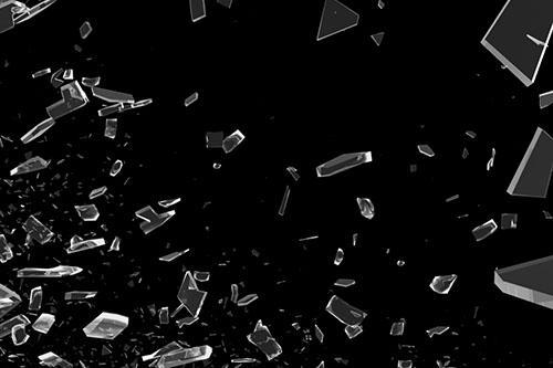 20 Shattered Glass Photoshop Brushes