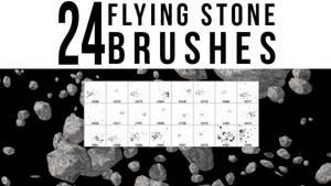 24 Flying Stone Brushes