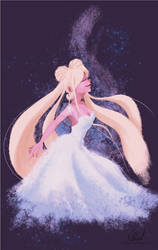 Princess Serenity - Sailor Moon by CaetanoWB