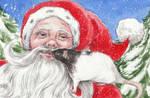 Santa's Best Girl by theillustratedrat