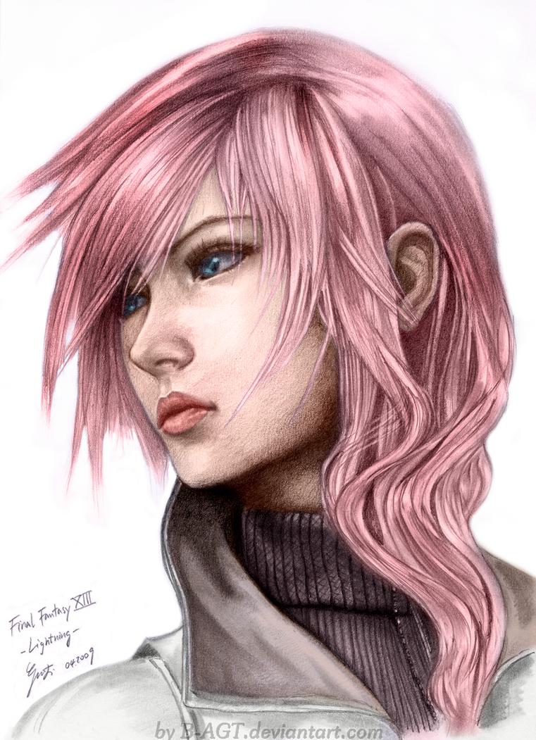 Final Fantasy XIII: Lightning by SyntaxError255