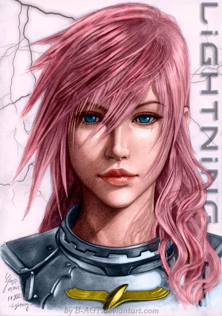 Final Fantasy XIII: Lightning 3 by SyntaxError255