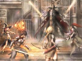 Knight of titan by TsuchinoeTatsuya