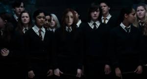 Gryffindor \ Lily Collins \ Harry potter