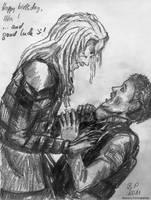 Stargate Atlantis: Wraith by BarbaraPommerenke