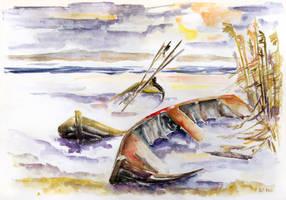 The Forgotten Boats by BarbaraPommerenke