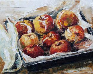 Baked Apples by BarbaraPommerenke