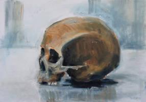 Skull Torso by BarbaraPommerenke