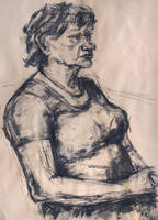 Portrait 17-05-13-1 by BarbaraPommerenke