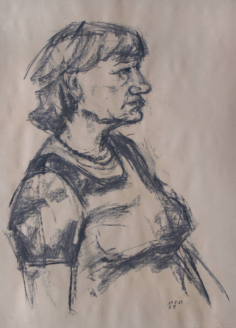 Portrait 17-05-13-2 by BarbaraPommerenke