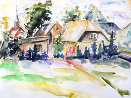 Midsummer In The Mecklenburg Village Nossentin by BarbaraPommerenke