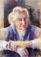 Mrs K. Remembering by BarbaraPommerenke