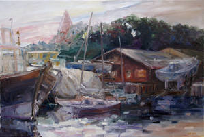 Off-Hours At The Ship Yard In Kirchdorf, Isl. Poel