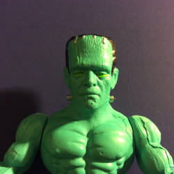 Monsters of the Universe Frankenstein's Monster by GoobleGobbleStudios