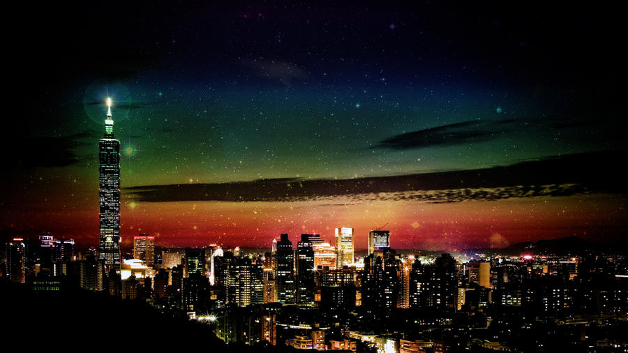 Taipei Landscape Wallpaper Edit 2 by ryanr08