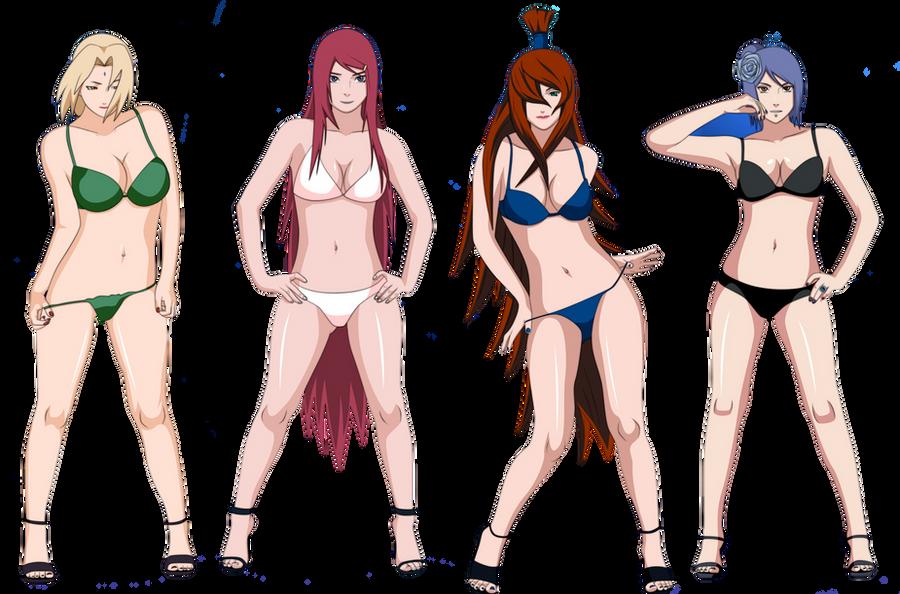Sexy girls in naruto
