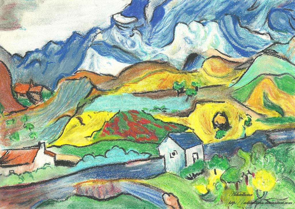 Van Gogh homage by Adutelluma