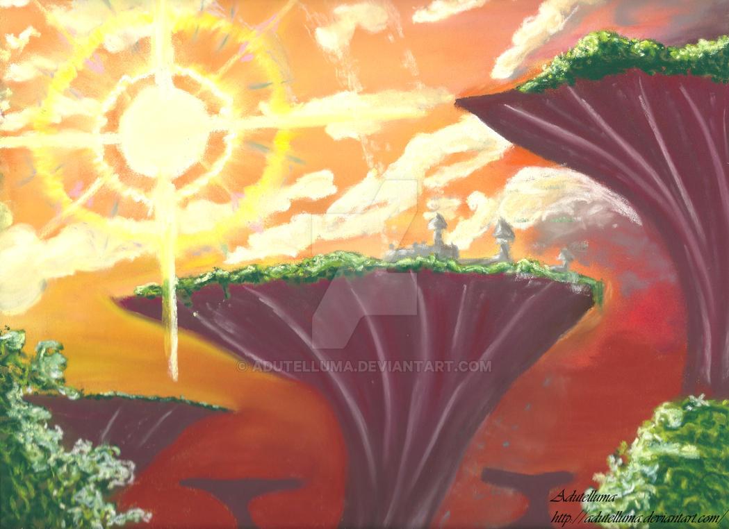 SAO Landscape. by Adutelluma
