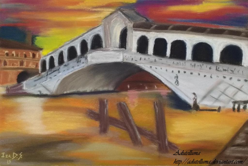 Rialto Bridge - Venice by Adutelluma