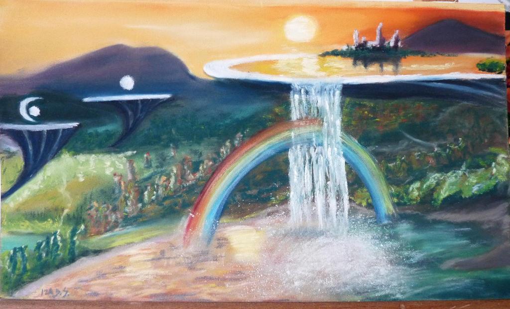 SAO fan art - landscape by Adutelluma
