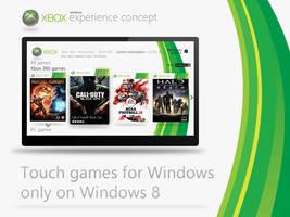 Windows 8 XBOX Concept by MetroUI