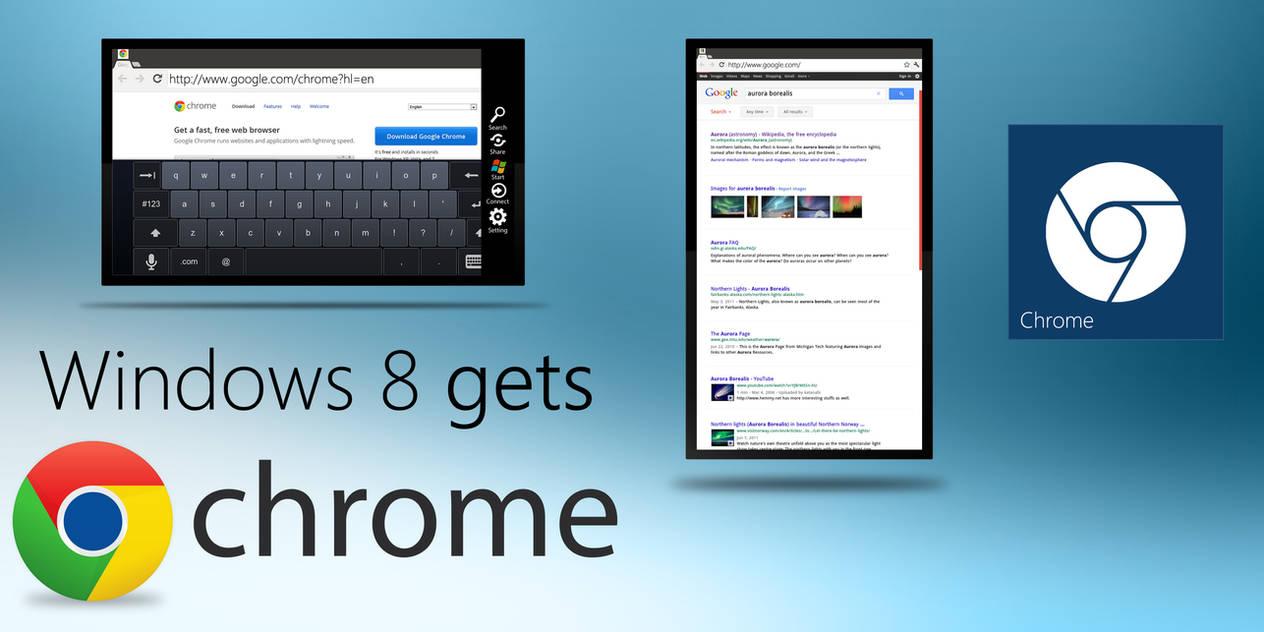 Windows 8 gets Chrome by MetroUI on DeviantArt