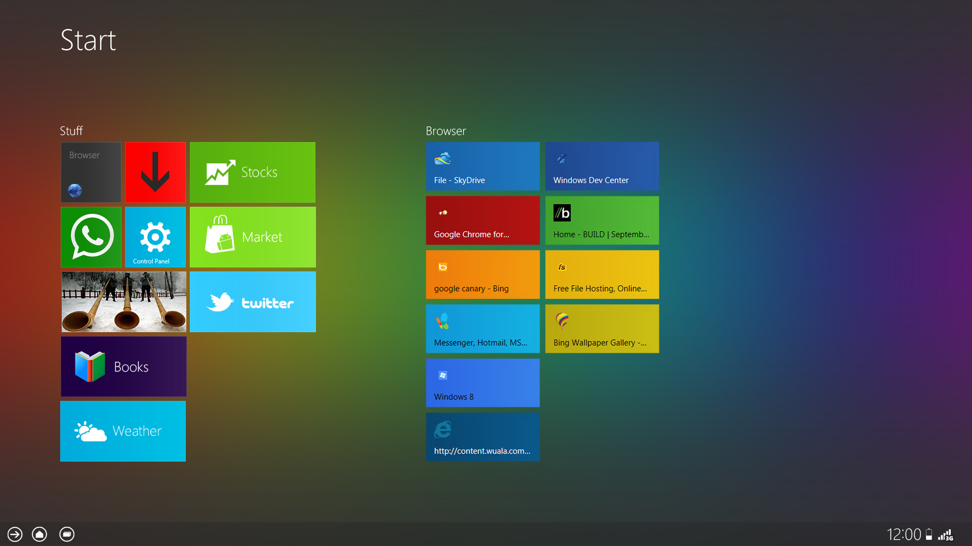 Windows 8 Concept Theme For Themeexpart