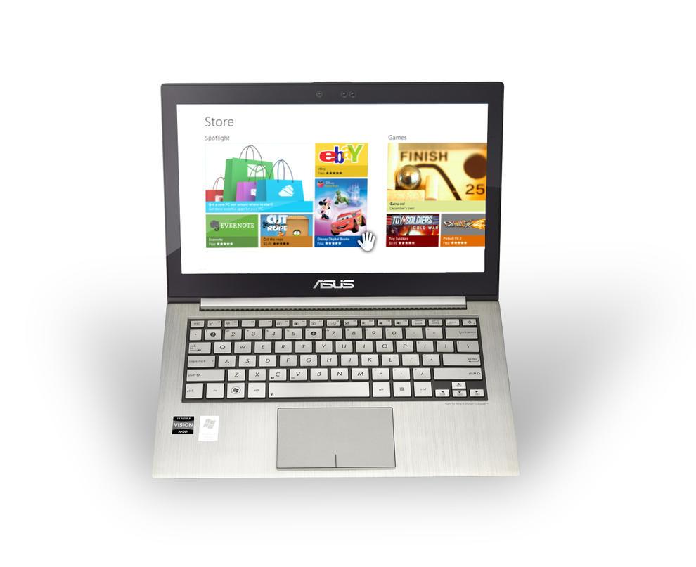 ASUS Kinectbook by MetroUI