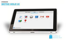 Introducing METRO HOLO UI by MetroUI