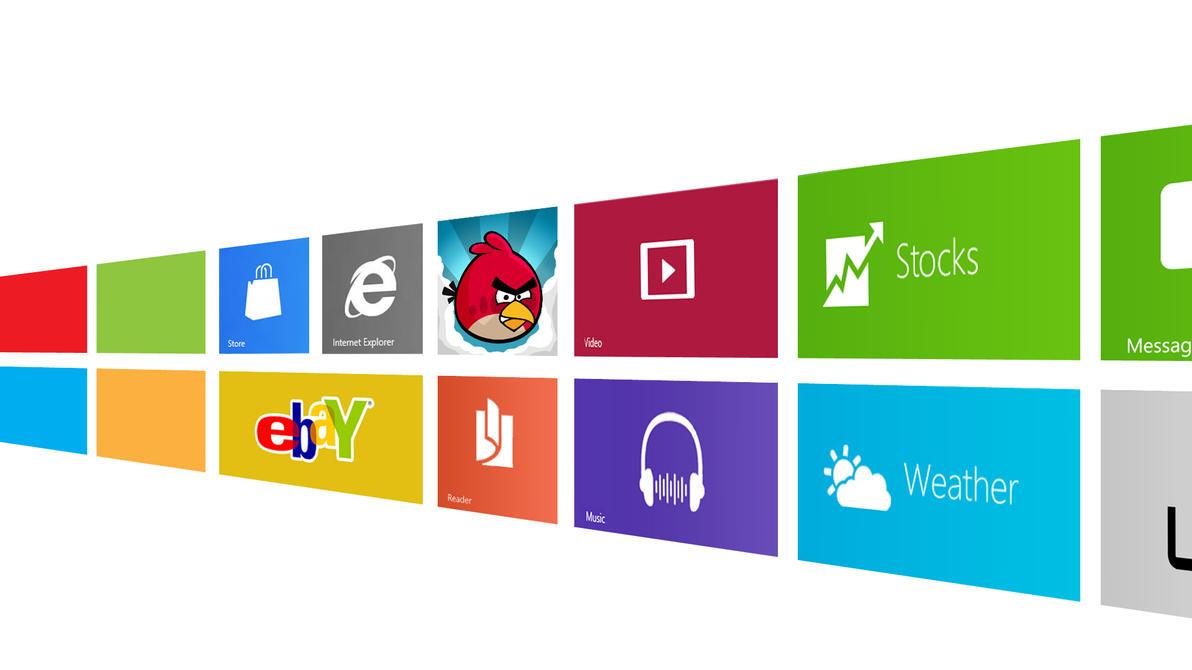 Windows Apps Remake by MetroUI