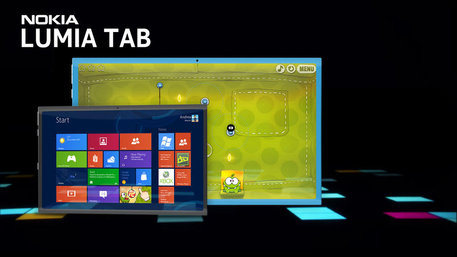 Nokia Lumia Tab by MetroUI