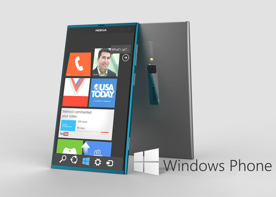 Windows Phone 8 by MetroUI