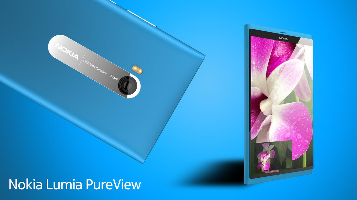 Lumia PureView Mockup by MetroUI