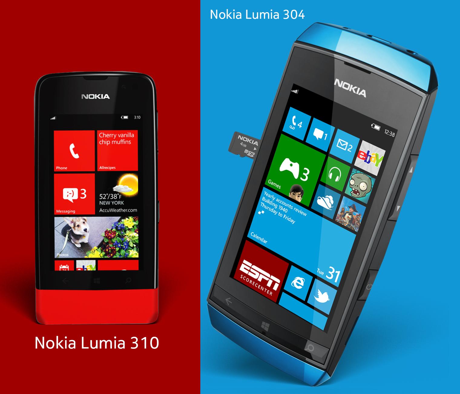 Nokia Feature Smartphones by MetroUI