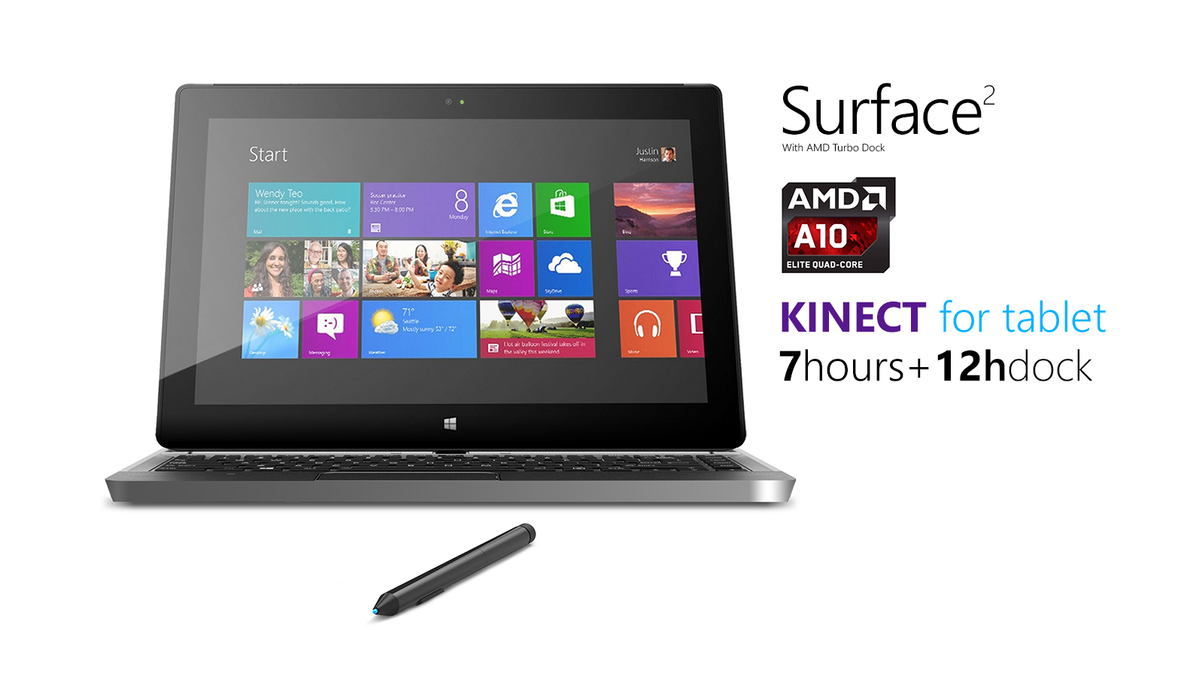 Surface 2 Concept by MetroUI