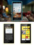 Facebook HOME MockUP for Windows Phone